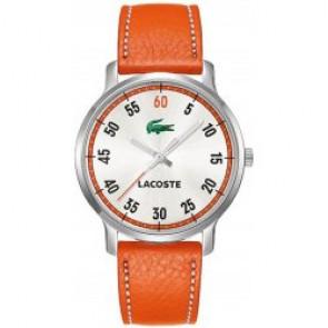 Cinturino per orologio Lacoste 2000568 / LC-41-3-14-2199 Pelle Arancione 20mm