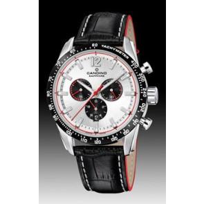 Cinturino per orologio Candino C4681 Pelle Nero