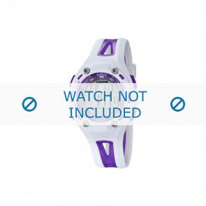 Calypso cinturino dell'orologio K5666-2 Plastica Viola 21mm