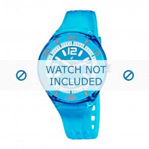 Calypso cinturino dell'orologio K5588/5  Gomma / plastica Turchese