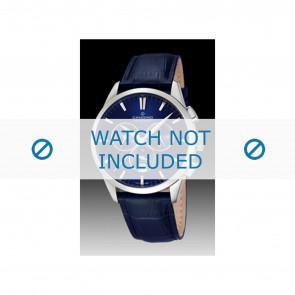 Candino cinturino dell'orologio C4517-3 Pelle Blu + cuciture blu