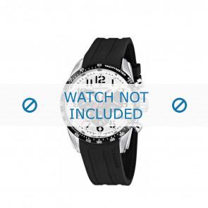 Candino cinturino dell'orologio C4472-1 / C4472-2 / C4472-3 / C4472-4 Gomma / plastica Nero 22mm