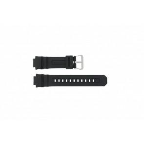 Casio cinturino orologio AW-590-1A Gomma Nero 16mm