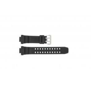 Casio cinturino orologio G-1000-1A Gomma Nero 14mm