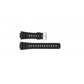 Casio cinturino dell'orologio DW-5000SL-1 / 10512401 / 5600E / 5600E-1 32 / G-5600 / G-5700 Silicone Nero 16mm