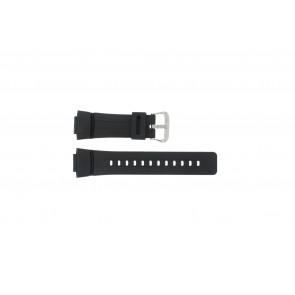 Casio cinturino dell'orologio G-100-1BV Silicone Nero 16mm