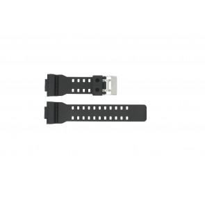 Cinturino per orologio Casio G-8900-1 / GA-100-1 / GA-110 / GA-110MB Plastica Nero 16mm