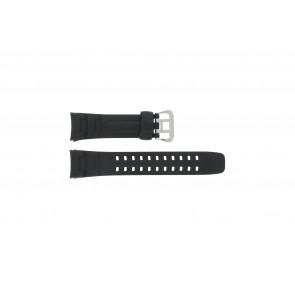 Cinturino per orologio G-7400-1V Silicone Nero 16mm