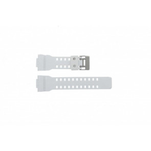 Cinturino per orologio Casio GA-100A-7AW Silicone Bianco 22mm