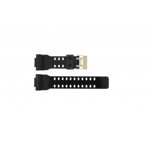 Casio cinturino orologio A-110GB-1A Gomma Nero 16mm
