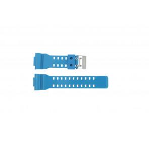 Cinturino per orologio Casio GD-110-2W / 10427892 Silicone Turchese 16mm