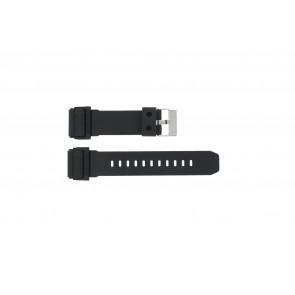 Casio cinturino orologio GD-400-1 Gomma Nero 26mm