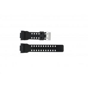Cinturino per orologio Casio GLS-8900-1W / 10457909 Silicone Nero 16mm