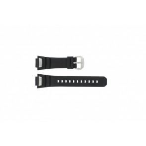 Cinturino per orologio GS-1000J-1A / 10212982 / 10332054 Silicone Nero 16mm