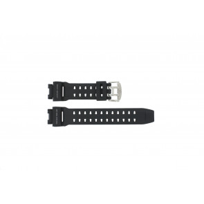 Cinturino per orologio GW-9110-1D / 10360284 Silicone Nero 16mm