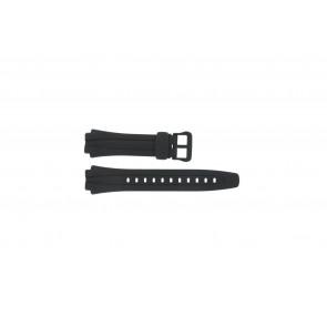 Cinturino per orologio Casio AQ-160W-1BV Plastica Nero 17mm