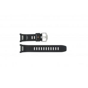 Casio cinturino orologio PAW-1500-1VV Gomma Nero 16mm