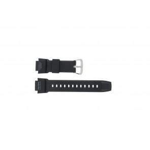 Casio cinturino orologio PRG-270-1 Gomma Nero 16mm