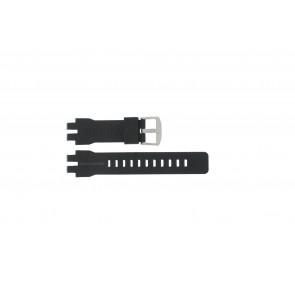Casio cinturino orologio PRW-6000 Gomma Nero 16mm