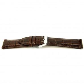 Cinturino dell'orologio I035 XL Pelle Marrone 24mm + cuciture di default