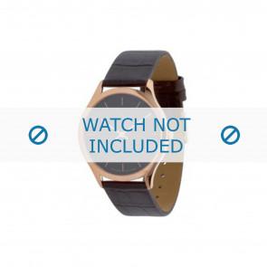 Calvin Klein cinturino dell'orologio K26215 Pelle Marrone 19mm