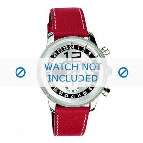Dolce & Gabbana cinturino dell'orologio 3719740276 Pelle Rosso + cuciture bianco