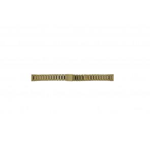Morellato cinturino orologio D0152025 Acciaio Oro (Placcato) 14mm