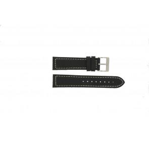 Cinturino per orologio Davis BB1020 Pelle Nero 22mm