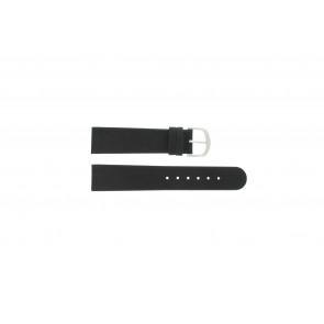 Cinturino per orologio IQ13Q732 / IQ16Q672 Pelle Nero 20mm