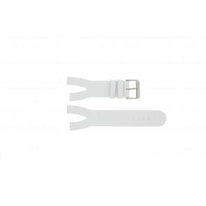 Davis cinturino orologio BB1401 Pelle Bianco 30mm