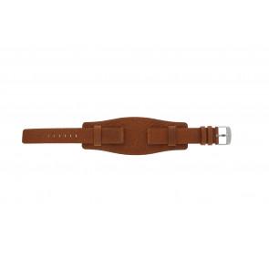Davis cinturino orologio B0222 Pelle Cognac 18mm