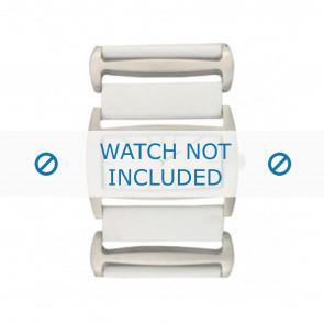 Davis cinturino dell'orologio BB0755 Pelle Bianco 36mm