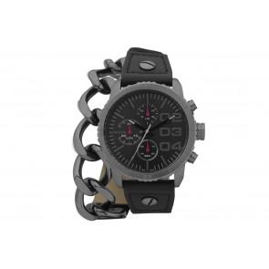 Cinturino per orologio Diesel DZ5309 Pelle Nero 22mm
