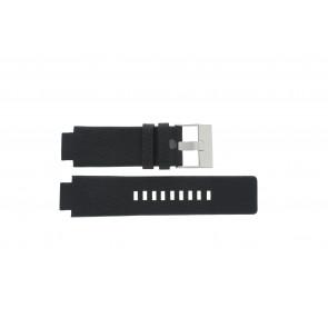 Cinturino per orologio Diesel DZ1089 / DZ1186 / DZ1091 / Pelle Nero 18mm