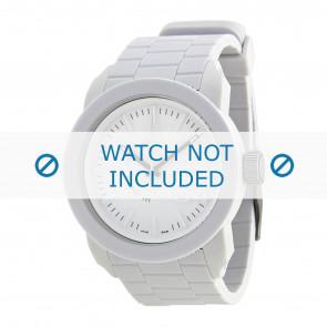 Diesel cinturino dell'orologio DZ1436 / DZ1439 / DZ1437 / DZ1438 Silicone Bianco 24mm