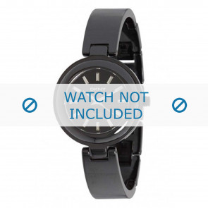DKNY cinturino dell'orologio NY8549 Ceramica Nero