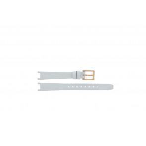 DKNY cinturino dell'orologio NY8784 Pelle Bianco 13mm + cuciture di default