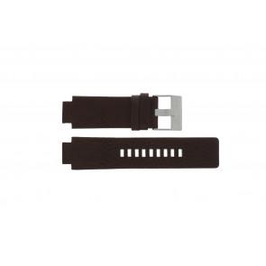 Diesel cinturino dell'orologio DZ1123 / DZ1090  Pelle Marrone 18mm