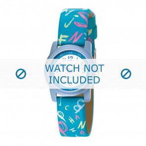 Esprit cinturino dell'orologio 000FA4 / 000FA4029 / ES000FA4-40BL Pelle Blu