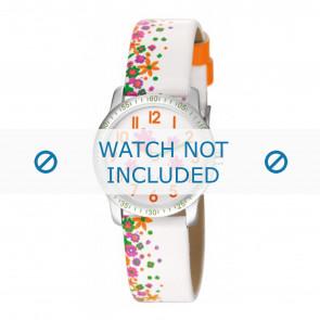 Esprit cinturino dell'orologio ES103524-40WI Pelle Bianco