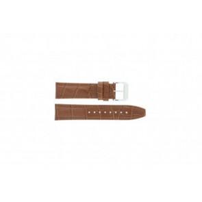 Festina cinturino orologio F16081/8 Pelle Marrone 22mm + cuciture marrone