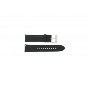 Fossil cinturino orologio FS-4745 Pelle Nero 22mm