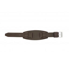 Cinturino per orologio Fossil JR1395 Pelle Marrone 20mm