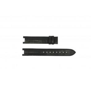 Guess cinturino orologio GC24001L2 / GC15000 Pelle Nero 16mm