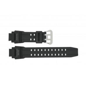 Cinturino per orologio Casio GW-4000-1AJ / 10397883 Gomma Nero 22mm