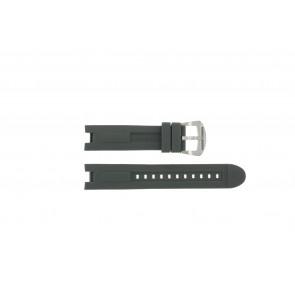 Cinturino per orologio BTB.M.D.CH.2.2 Gomma Grigio 21mm