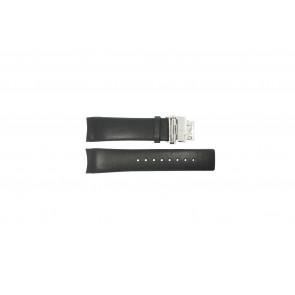 Calvin Klein cinturino dell'orologio K1V278 Pelle Nero 22mm