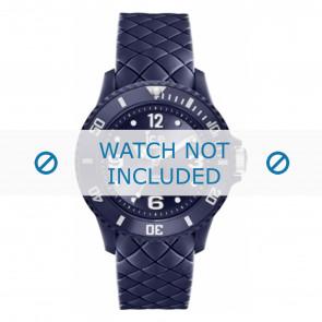 Ice Watch cinturino dell'orologio 007271 Pelle Blu 20mm + cuciture di default