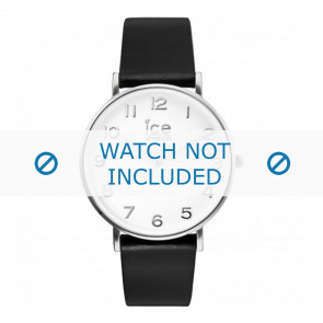 Ice Watch cinturino dell'orologio 001502 / CT.BSR.36.L.16 Pelle Nero 18mm