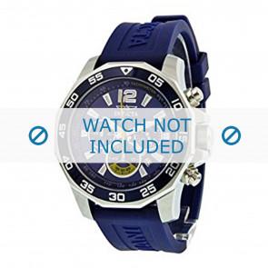 Invicta cinturino dell'orologio 7431 Gomma Blu 22mm